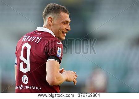 Torino. Italy. 19th June 2020. Italian Serie A . Torino Fc Vs Parma Calcio. Andrea Belotti Of Torino