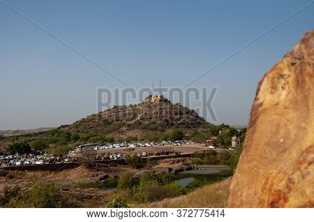 The Cityscape Of Jodhpur From The Top Mehrangarh Fort