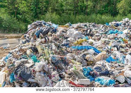 Municipal Waste Landfill. Environmental Pollution. Ecological Disaster