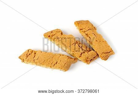 Biscotti Di Prato, Cantuccini Or Cantucci Shortbread With Almond