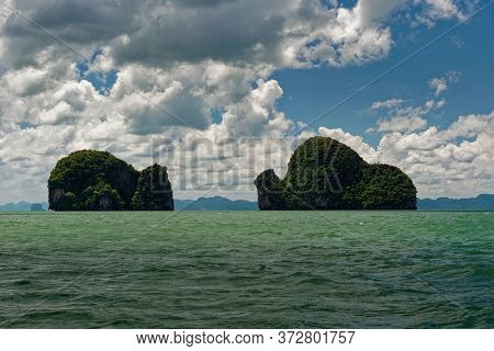 Thailand - Ao Phang-nga  National Park, Consists Of An Area Of The Andaman Sea Studded With Numerous