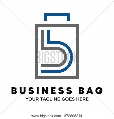 Logo, Design, Vector, Symbol, Idea, Concept, Picture, Graphic, Font, Bb Or Double B Writing In Bag A
