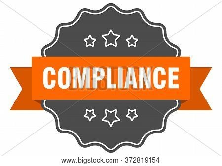Compliance Isolated Seal. Compliance Orange Label. Compliance