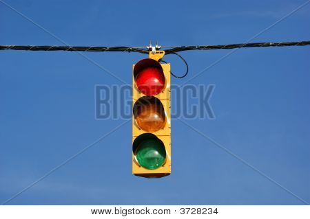 Single Traffic Light