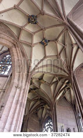 Inside The Minster Of Freiburg Im Breisgau