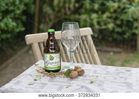 Sint Gillis Waas, 22 May 2020, Gageleer Craft Belgian Beer Original Is A Golden Colored Beer