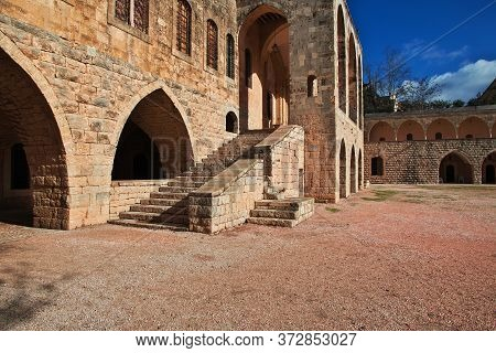 Beit Ed-dine Palace In Mountains Of Lebanon