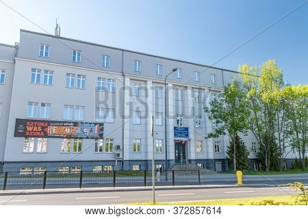 Olsztyn, Poland - May 31, 2020: University Of Warmia And Mazury In Olsztyn. Faculty Of Societal Scie