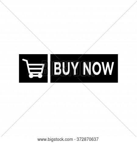 Buy Now Signage Icon Flat Vector Template Design Trendy