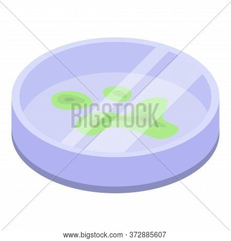 Biology Microbe Icon. Isometric Of Biology Microbe Vector Icon For Web Design Isolated On White Back
