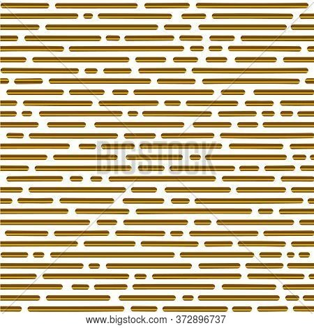Gold Gradient Seamless Pattern. Abstract Geometric Shape Texture. Seamless Pattern For Web, Print, W