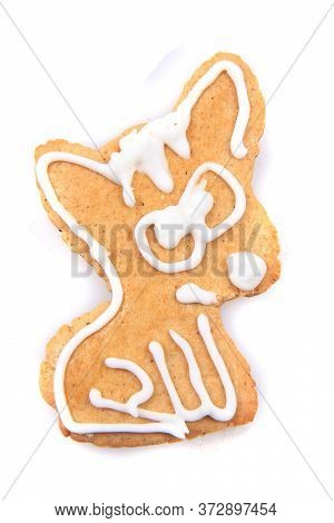 Chihuahua Dog Sweet Gingerbread For Christmas