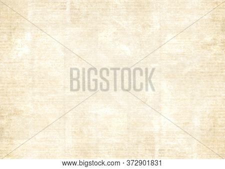 Old Newspaper Paper Grunge Texture Background. Blurred Vintage Newspapers Textured Backdrop. Blur Un