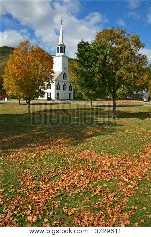 Townshend Vermont In Autumn