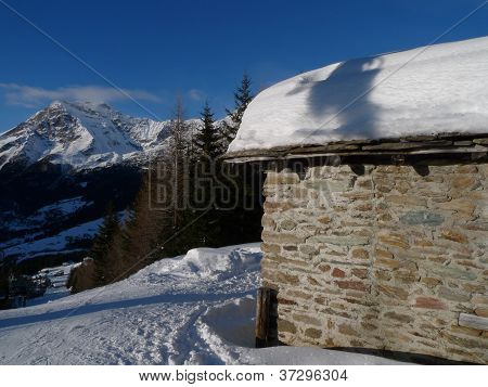 house in the alps