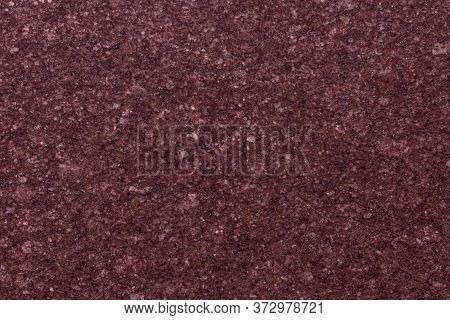 Dark Pink Granite Background Used For Kitchen Worktop, Table, Window Sill, Fence.red Violet Igneous