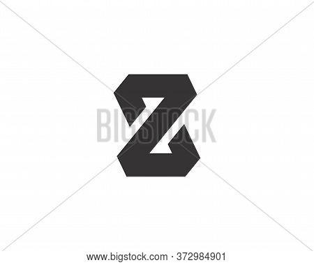 Capital Letter Z Monogram .letter Z Monogram Initial