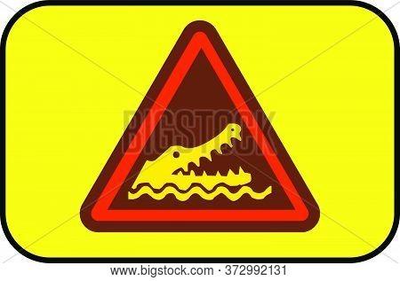 Crocodile Attack Area Do Not Enter Water New Design