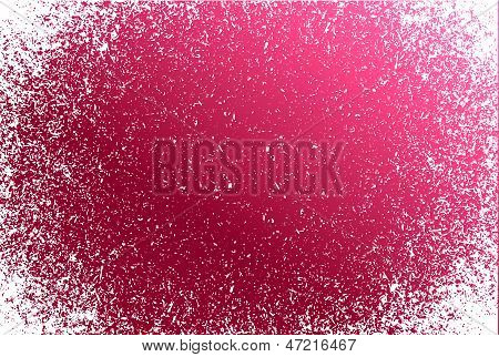 Burgundy Grunge Pattern Frame Background