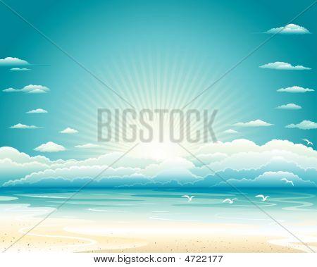 Summer Seascape