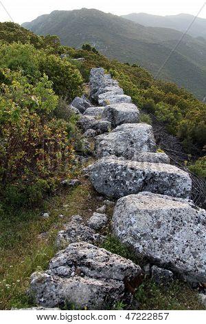 Ruins Of Wall