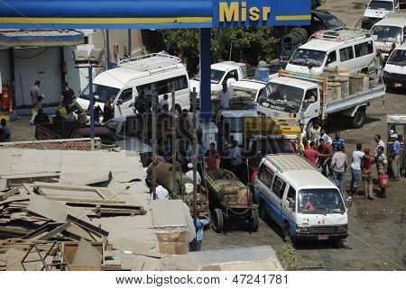 Fuel Shortage In Egypt