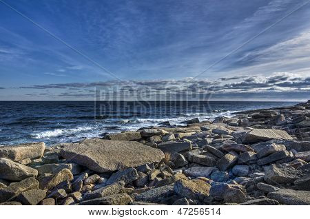 Rocky Winter Coast