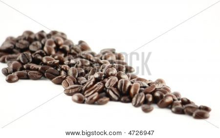 Spread Out Coffee Beans