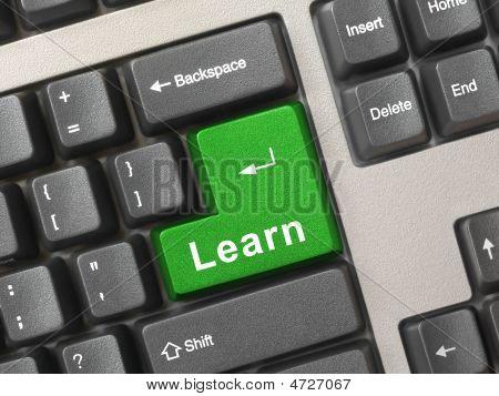 Computer-Tastatur mit Schlüssel erfahren
