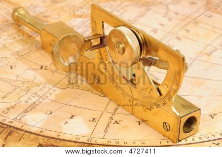 Old-fashioned Navigation Device