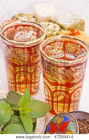 Moroccan Tea And Turkish Delight