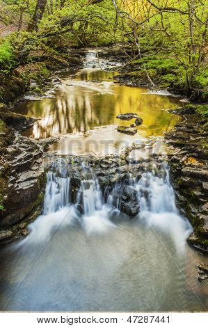 Late Afternoon Waterfall