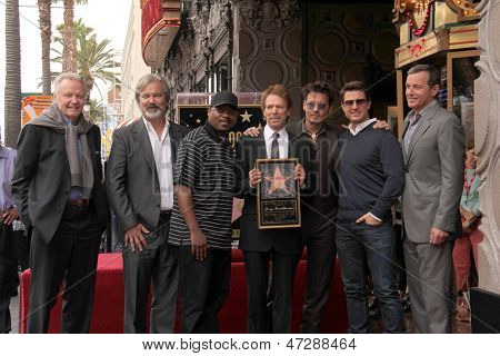LOS ANGELES - JUN 24: Voight, Verbinsky, Lawrence, Bruckheimer, Depp, Tom Cruise, Bob Iger at the Bruckheimer Star on the Hollywood WOF  at the El Capitan Theater on June 24, 2013 in Los Angeles, CA