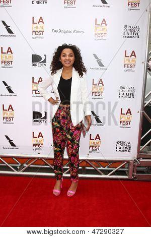 LOS ANGELES - JUN 23:  Jaylen Barron arrives at