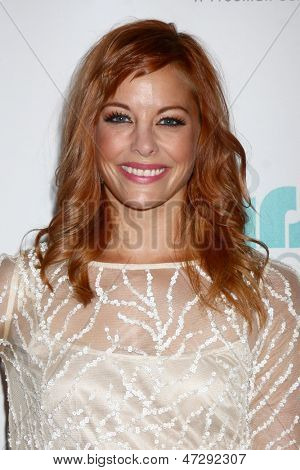 LOS ANGELES - JUN 25:  Amy Paffrath arrives at the 4th Annual Thirst Gala at the Beverly Hilton Hotel on June 25, 2013 in Beverly Hills, CA