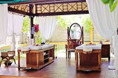 spa beauty and massage center indoors outdoor poster