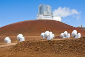 Subaru Telescope Submillimeter Array W. M. Keck Observatory and NASA Infrared Telescope Facility poster