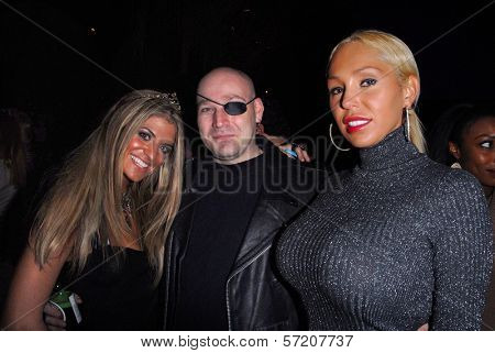 Bridgetta Tomarchio, Eliot Sirota and Mary Carey at Bridgetta Tomarchio's Birthday Bash and Babes in Toyland 3rd Annual Charity Event, Bar 210, Beverly Hills, CA. 12-03-10