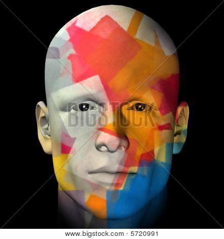 Colorful Portrait Illustration