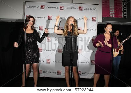 Wendy Wilson, Chynna Phillips, Carnie Wilson at the