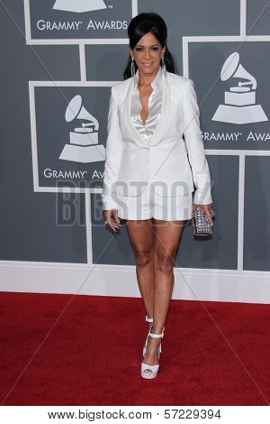 Sheila E. at the 54th Annual Grammy Awards, Staples Center, Los Angeles, CA 02-12-12