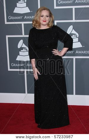 Adele at the 54th Annual Grammy Awards, Staples Center, Los Angeles, CA 02-12-12