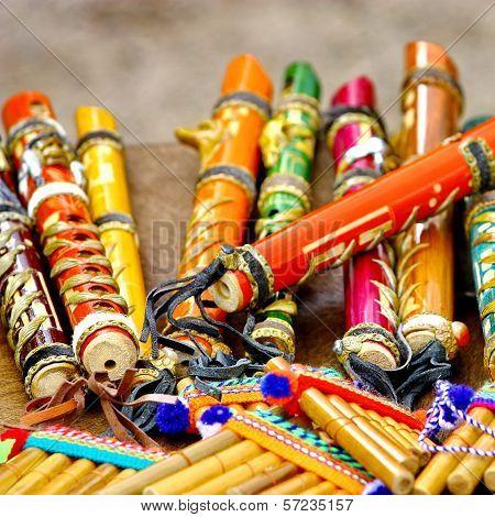 Colorful Flutes