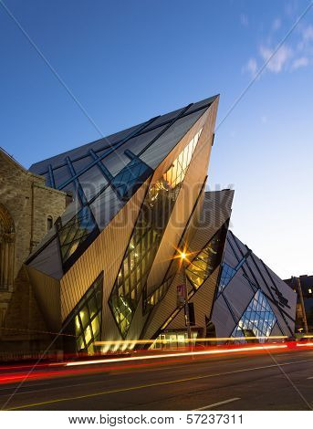 Royal Ontario Museum at Dusk