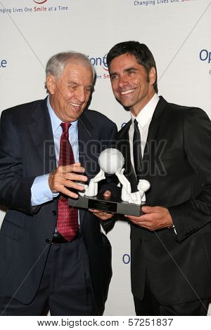 Garry Marshall and John Stamos  at the 9th Annual Smile Gala Benefiting Operation Smile, Beverly Wilshire Hotel, Beverly Hills, CA. 09-24-10