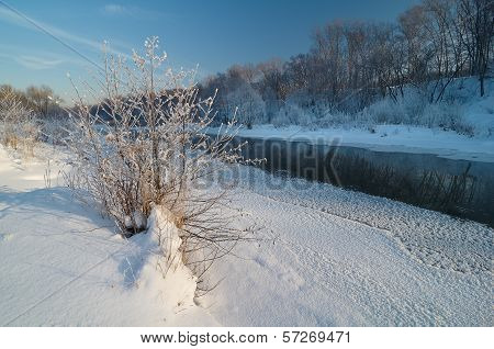 Cold Morning On The River