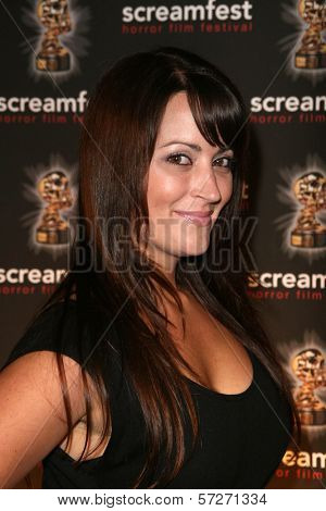 Courtney Zito  at a screening of