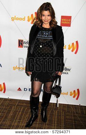 Laura San Giacomo at the 23rd Annual GLAAD Media Awards, Westin Bonaventure Hotel, Los Angeles, CA 04-21-12
