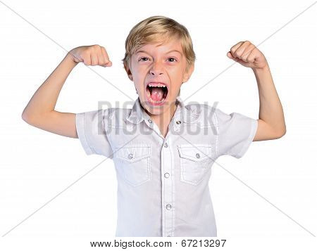 Young Boy Muscle