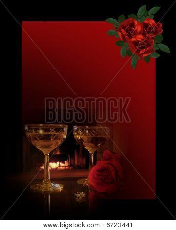 Valentine Romantic Background